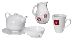 Porcelán Teekanne