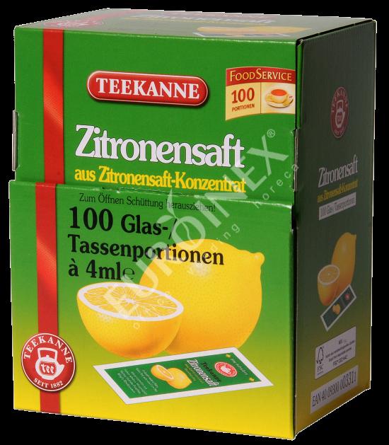 Teekanne - citrónový koncentrát